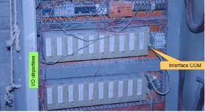 Ancienne armoire CPU Siemens
